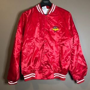 Indy 500 red gift shop jacket.
